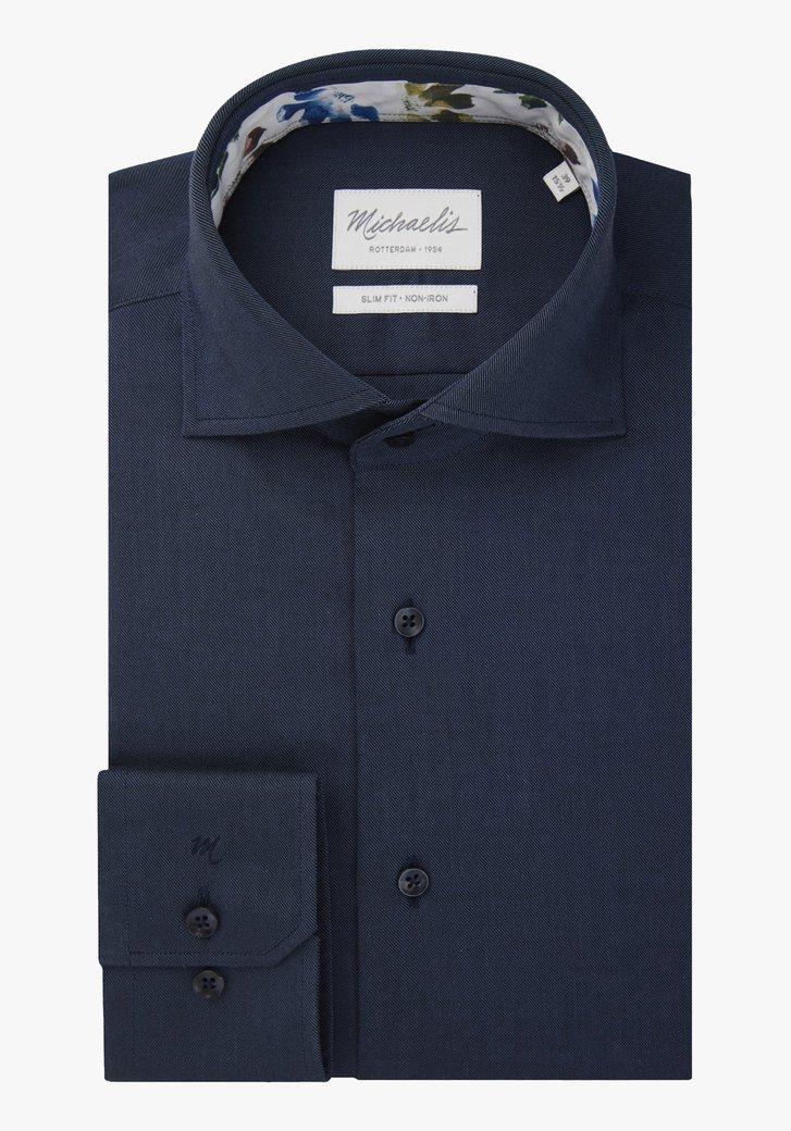 Chemise bleu marine - slim fit