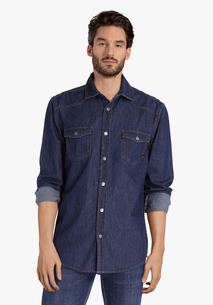 Chemise en jean bleu - regular fit