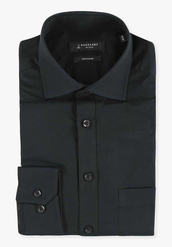 Chemise noir - regular fit