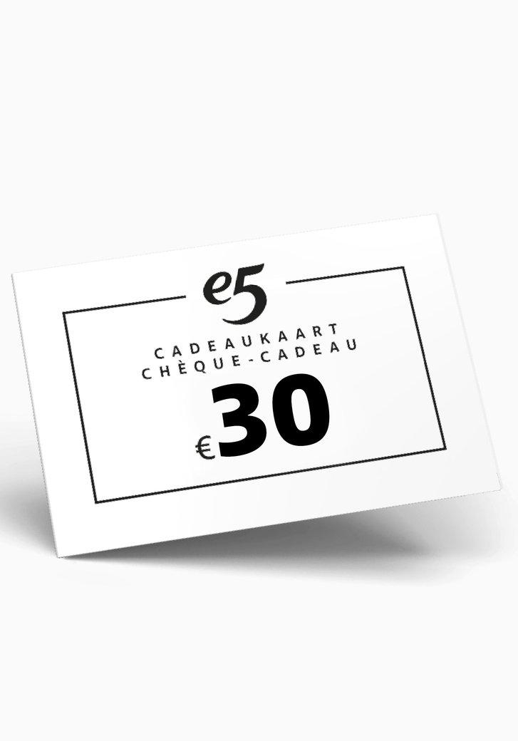 Chèque-cadeau 30 EUR
