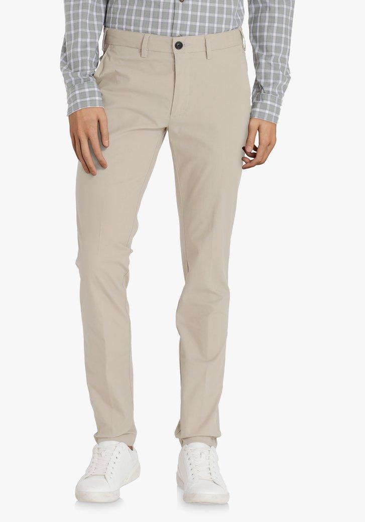 Chino beige clair – slim fit