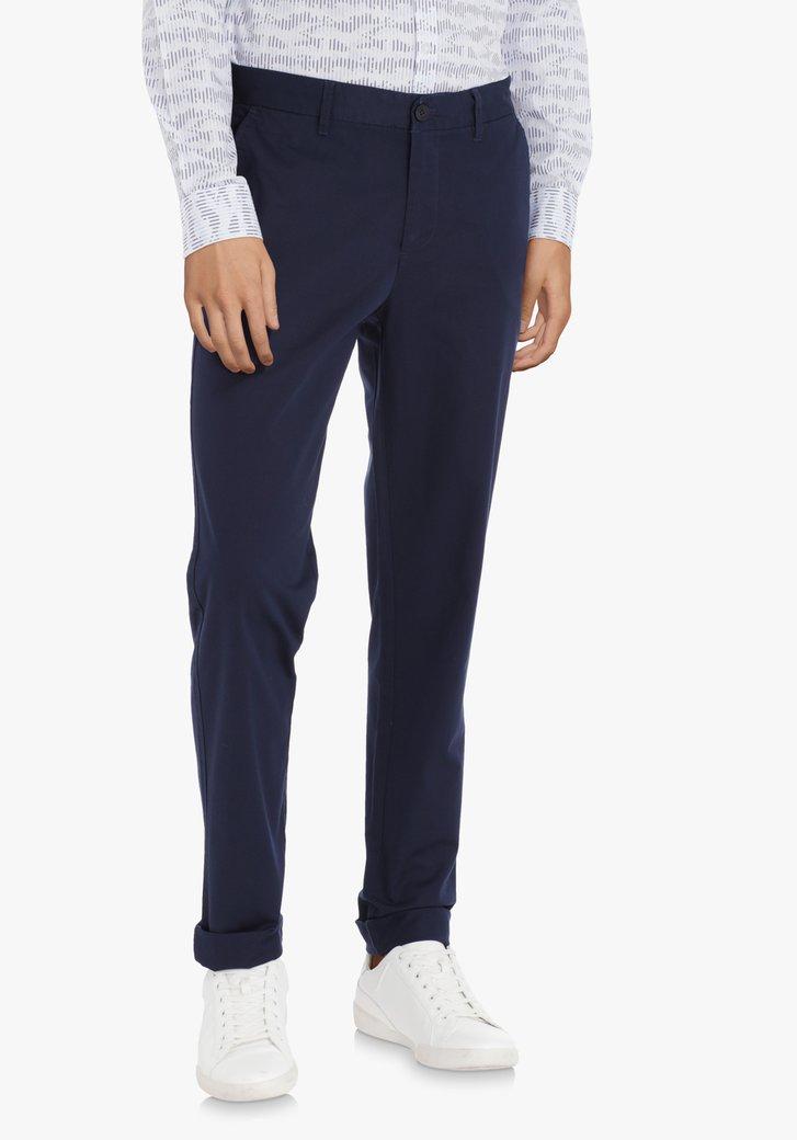 Chino bleu marine – regular fit
