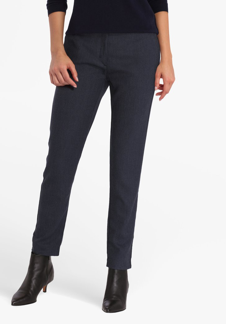 Chino bleu marine - slim fit
