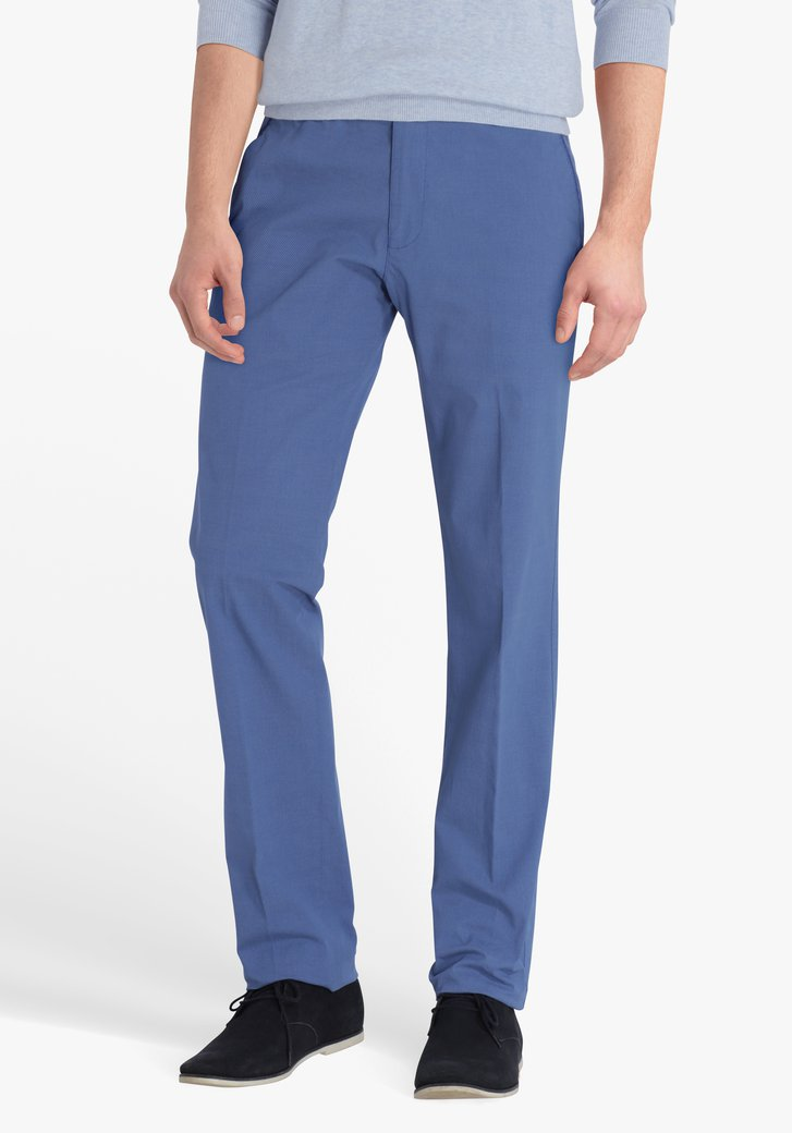 Chino bleu royal - Vancouver - regular fit