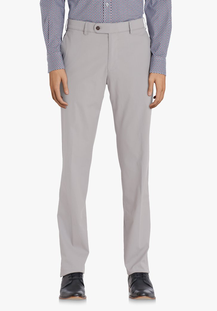 Chino gris clair - Vancouver – regular fit