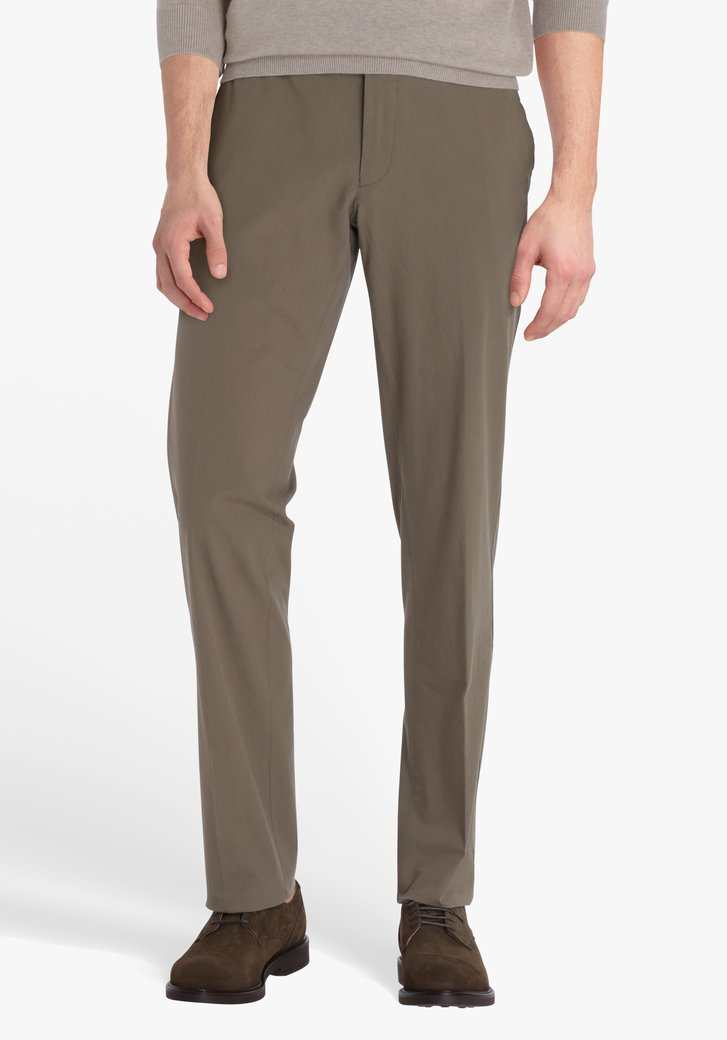 Chino jaune brun - Louisiana - regular fit