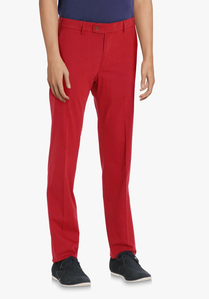 Chino rouge – Vancouver – regular fit