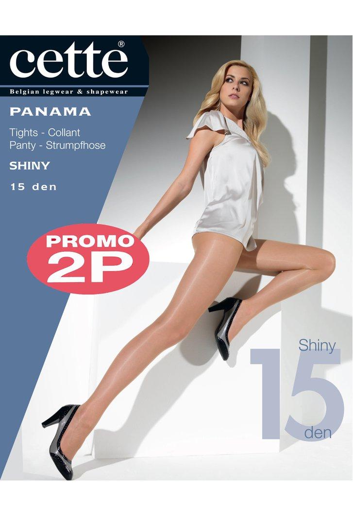 Collant beige Panama - 15 den - 2 pièces