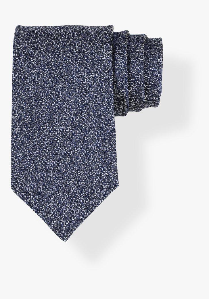 Cravate bleu à imprimé