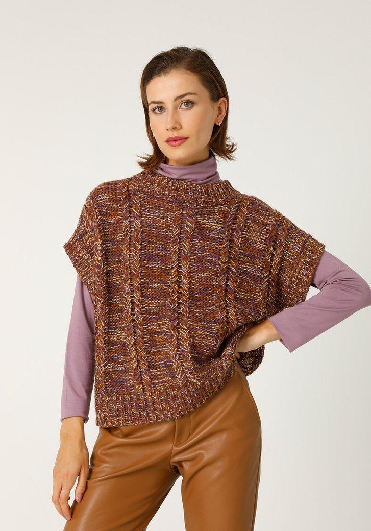 Débardeur tricoté