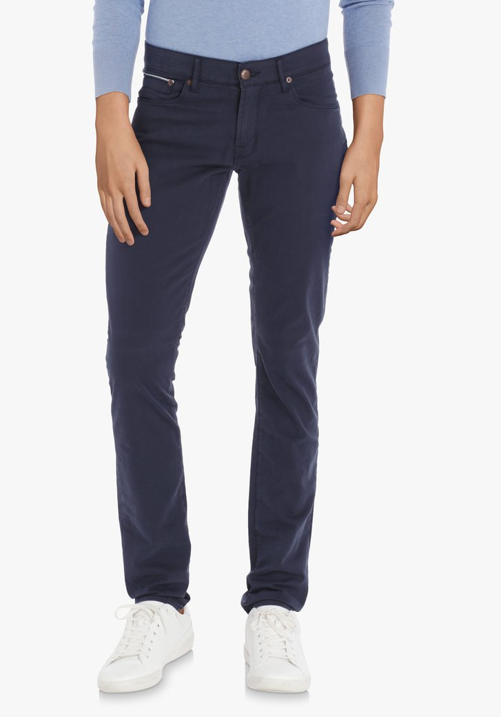 Donkerblauwe broek – Jefferson – slim fit