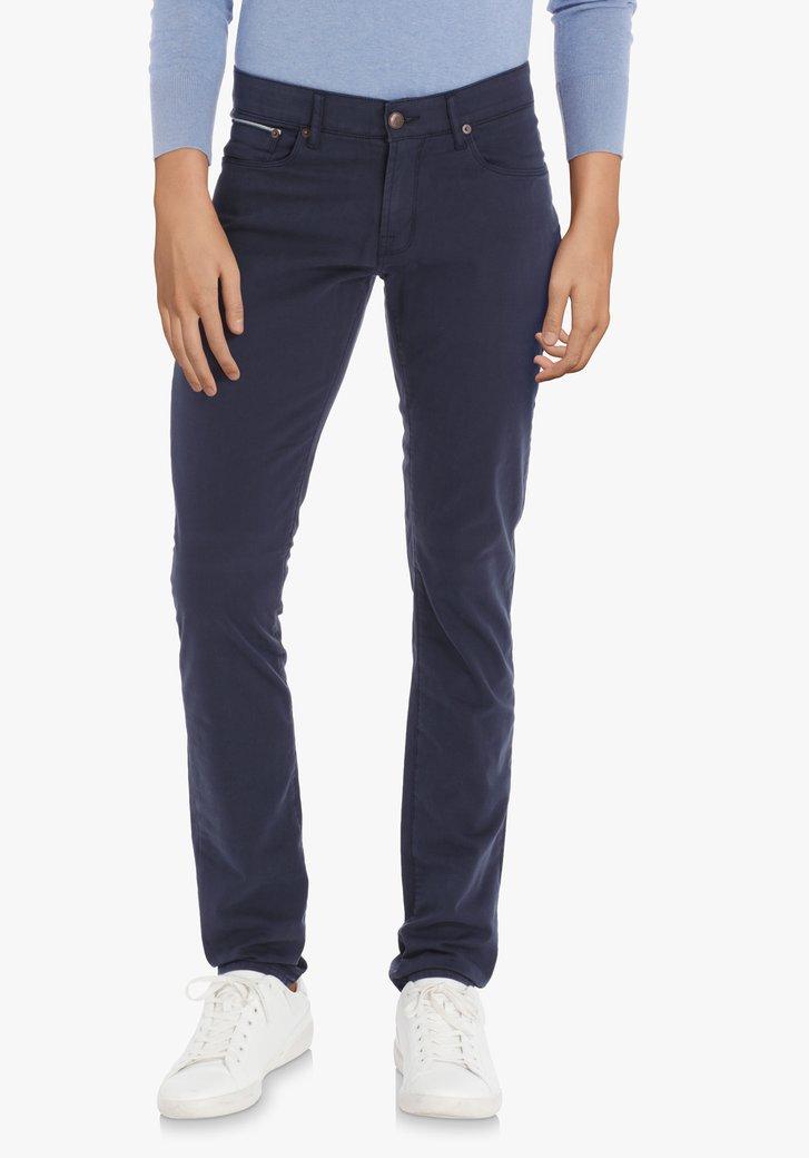 Afbeelding van Donkerblauwe broek – Jefferson – slim fit