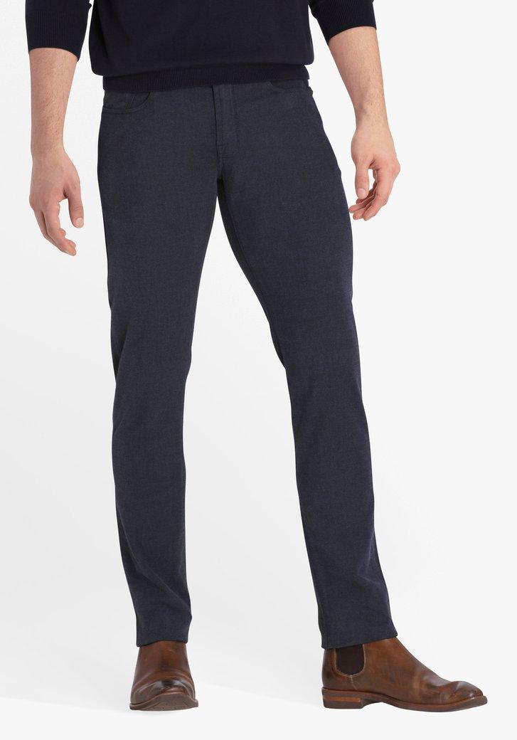 Donkerblauwe broek - Jefferson - slim fit