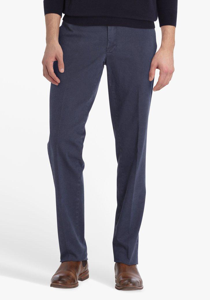Donkerblauwe chino - Louisiana - regular fit