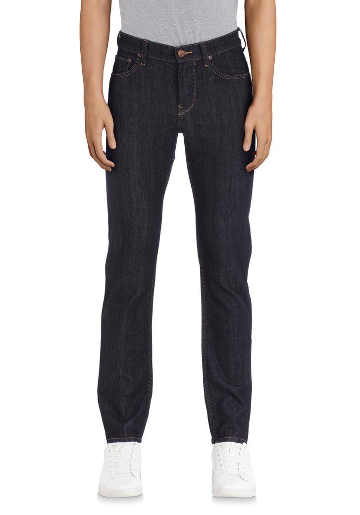 Afbeelding van Donkerblauwe effen jeans - Rider - slim fit - L34