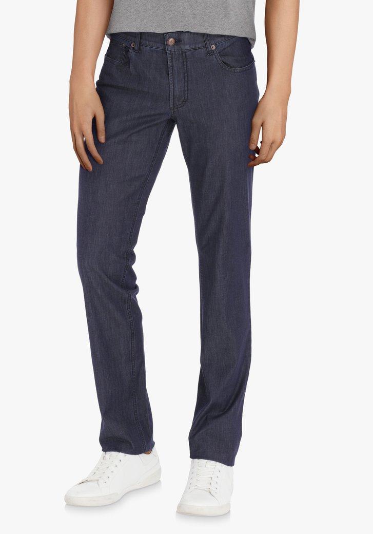 Donkerblauwe jeans – Jackson – regular fit