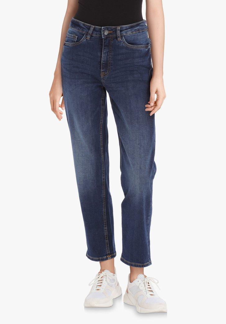 Afbeelding van Donkerblauwe jeans – Sussi – mom fit