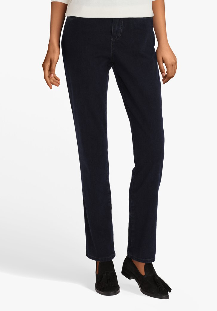 Donkerblauwe jeans - comfort fit
