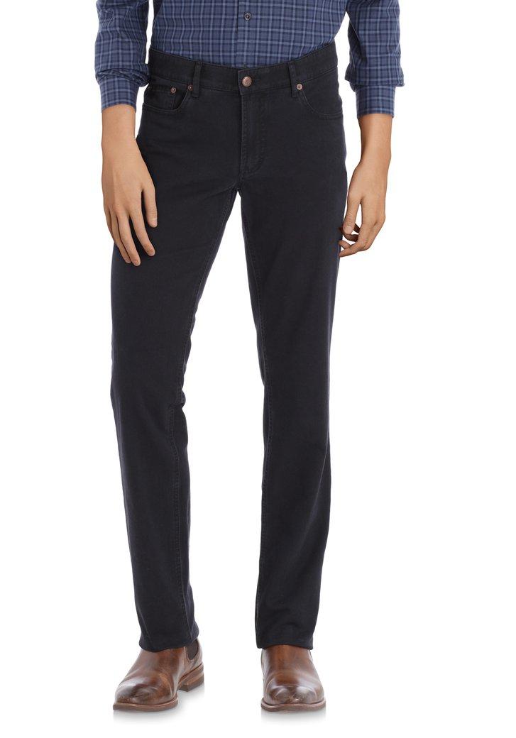 Donkerblauwe jeans Jackson - regular fit