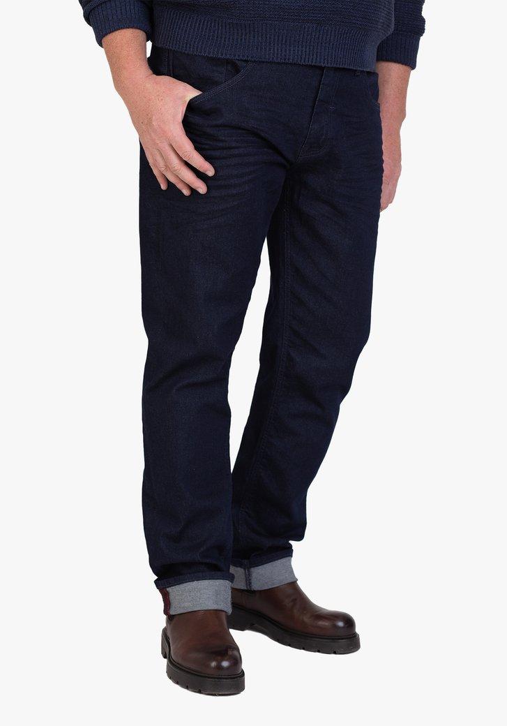 Donkerblauwe jeans - regular fit