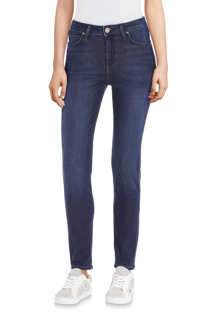 Afbeelding van Donkerblauwe jeans - Scarlett High - L31