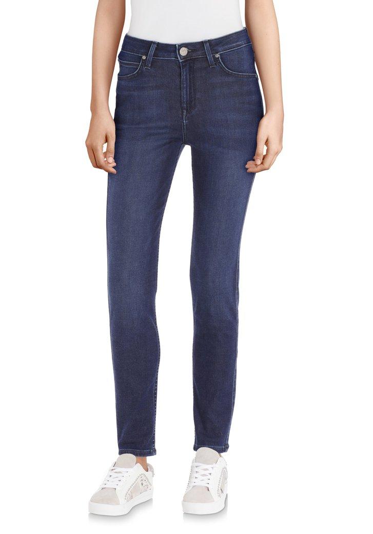 Afbeelding van Donkerblauwe jeans - Scarlett High - L33