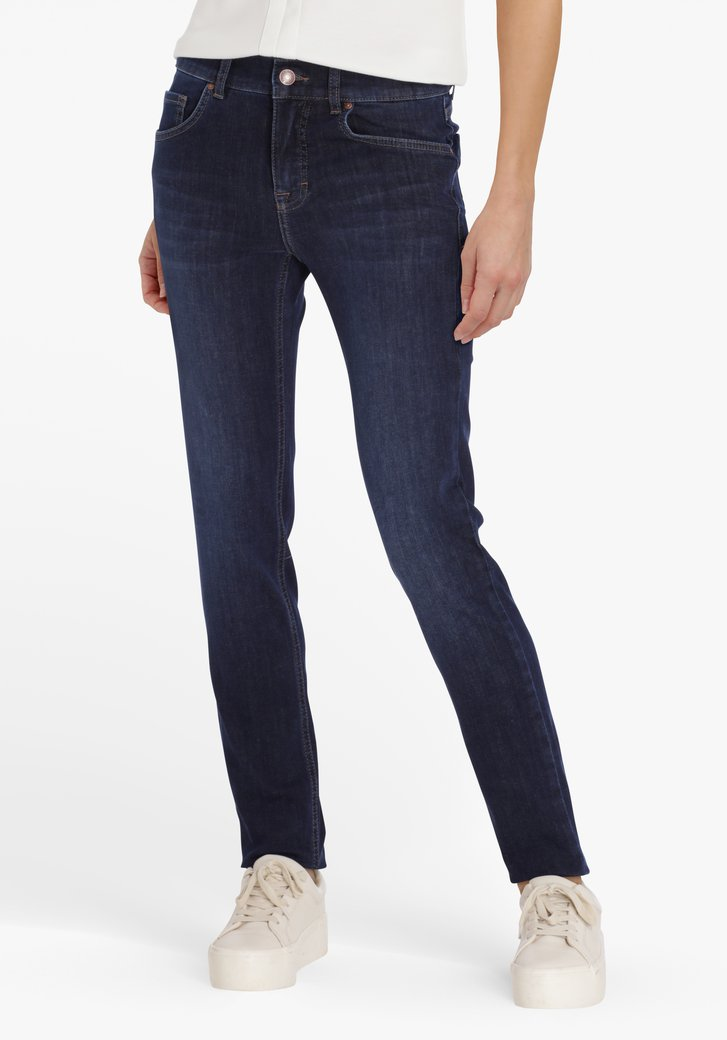 Donkerblauwe jeans - skinny fit