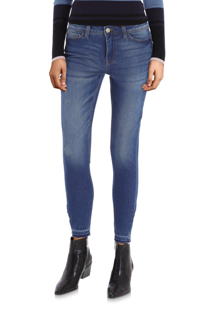 Donkerblauwe jeans - skinny fit