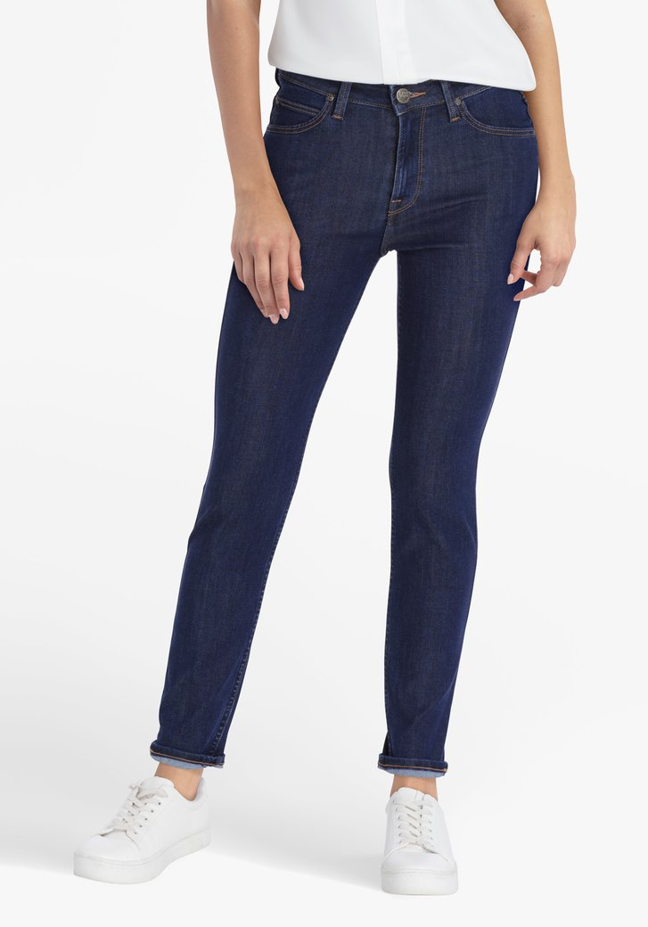 Donkerblauwe jeans - skinny fit - L31