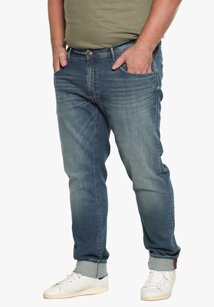 Donkerblauwe jeans - slim fit