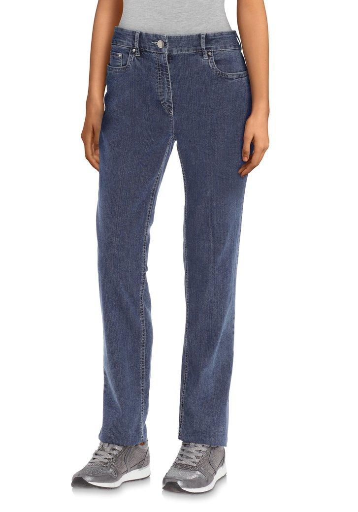 Afbeelding van Donkerblauwe jeans - straight fit