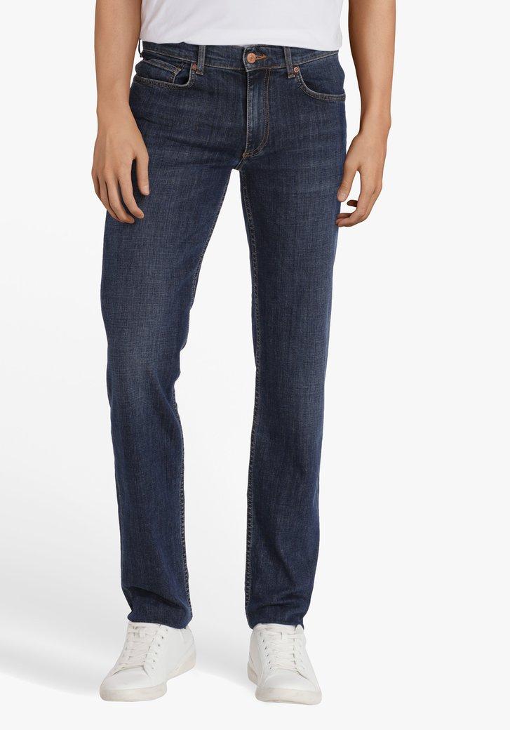 Donkerblauwe jeans - Tom - regular fit - L32.