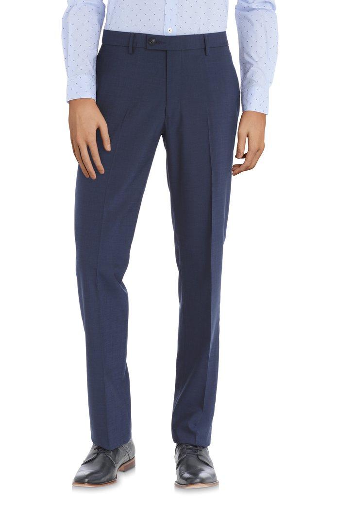 Afbeelding van Donkerblauwe kostuumbroek – Vilnius - comfort fit