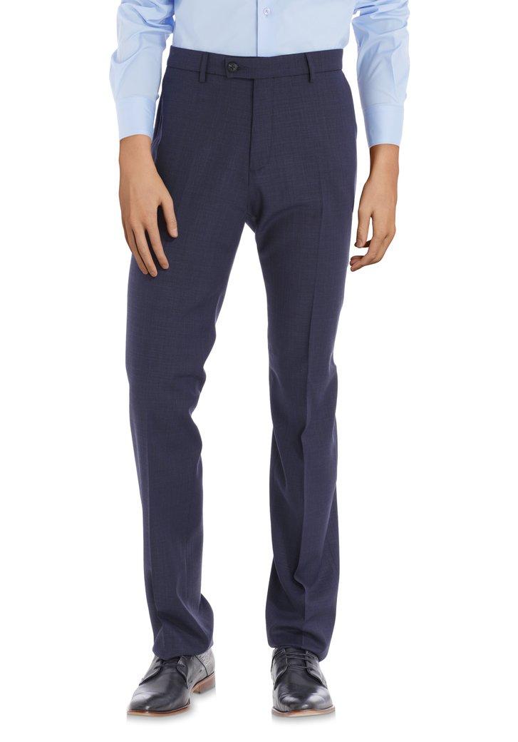 Afbeelding van Donkerblauwe kostuumbroek - Michigan - comfort fit