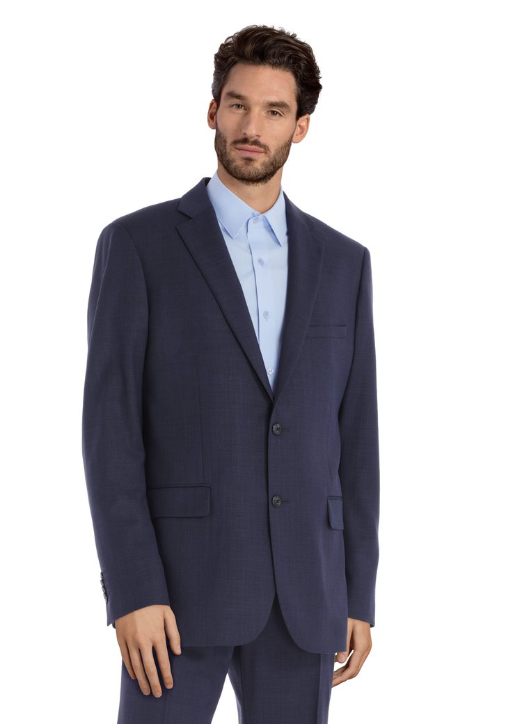 Donkerblauwe kostuumvest – Michigan – comfort fit