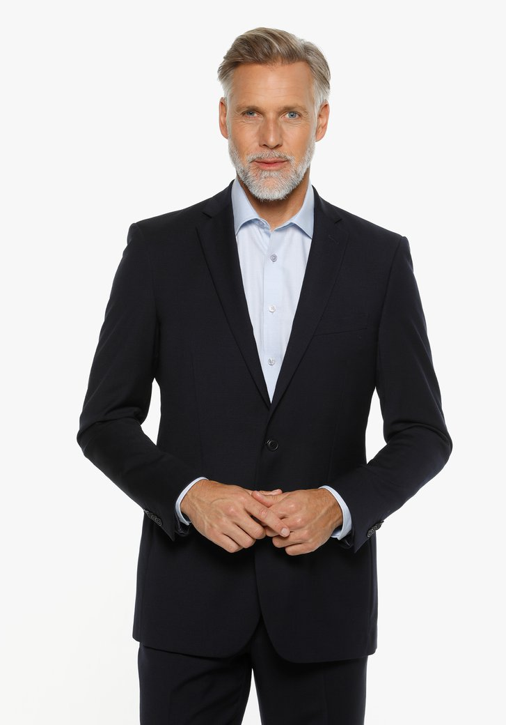 Donkerblauwe kostuumvest – Raoul – regular fit