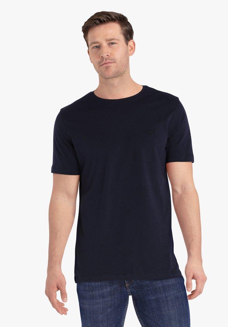 Donkerblauwe T-shirt