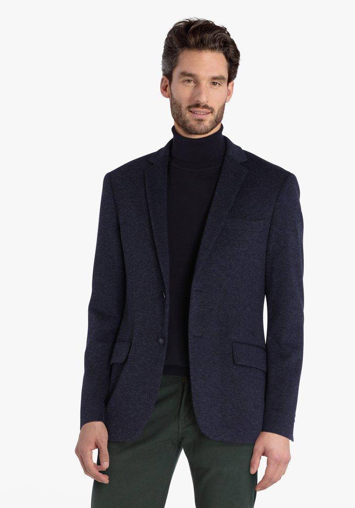Donkerblauwe vest
