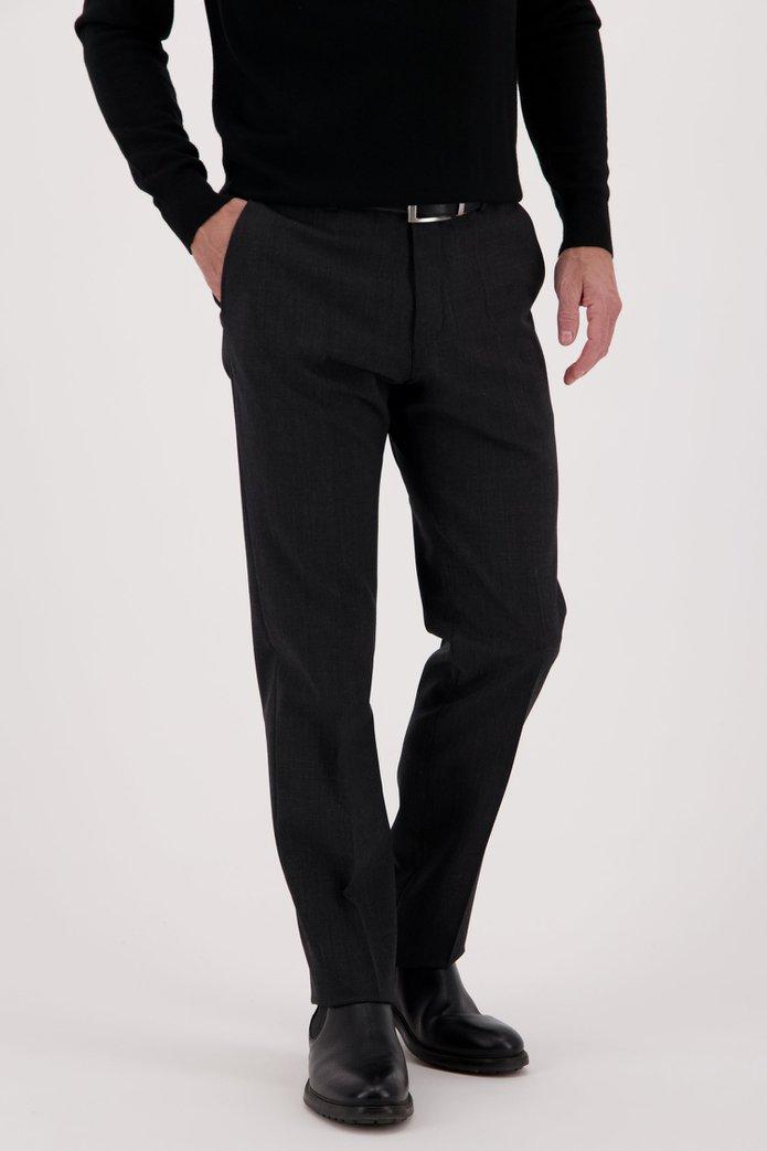 Donkergrijze broek Vancouver - regular fit Heren, merk: Brassville