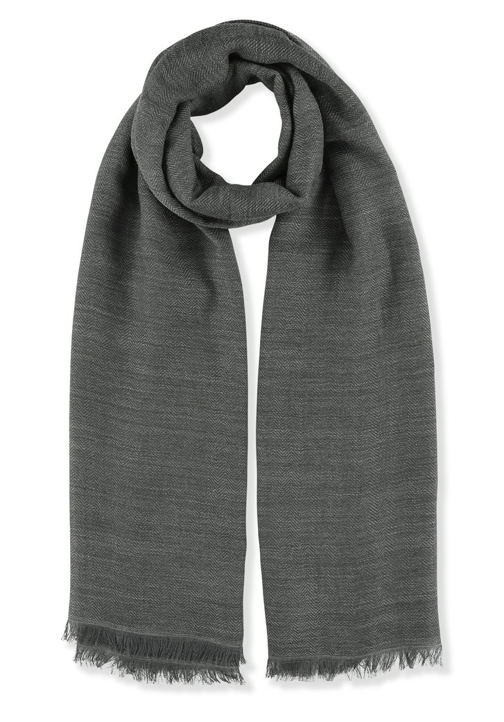 Donkergrijze foulard