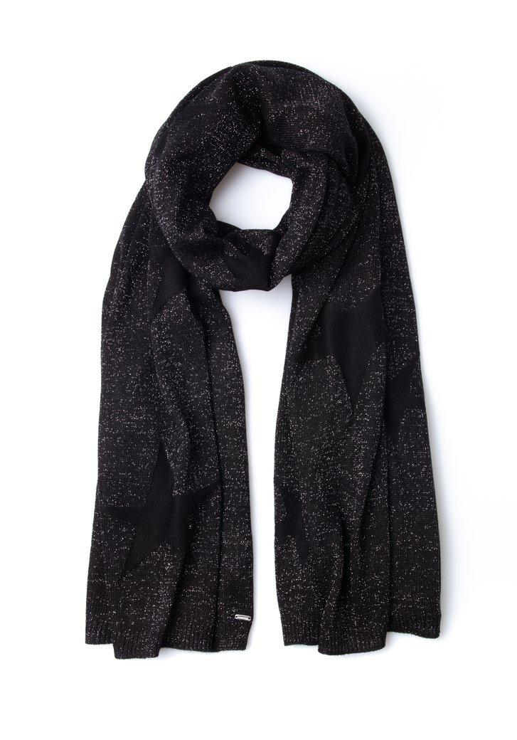 Foulard à carreaux noir-blanc (4621745)   e5 mode 1b1b2271803