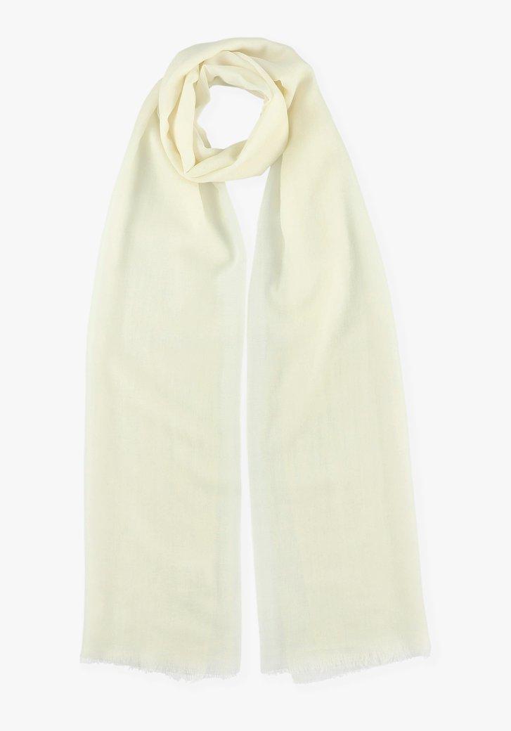 Ecru sjaal