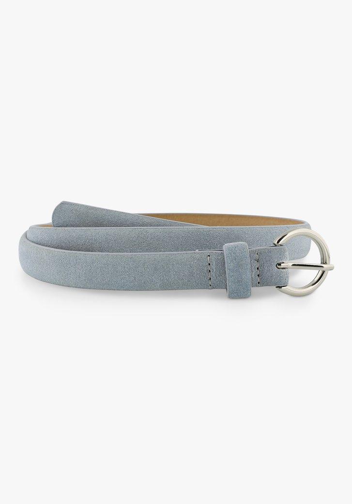 Fine ceinture bleu clair
