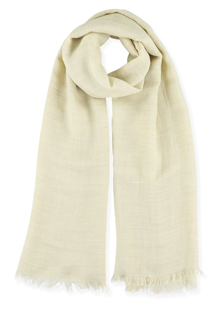Foulard beige clair