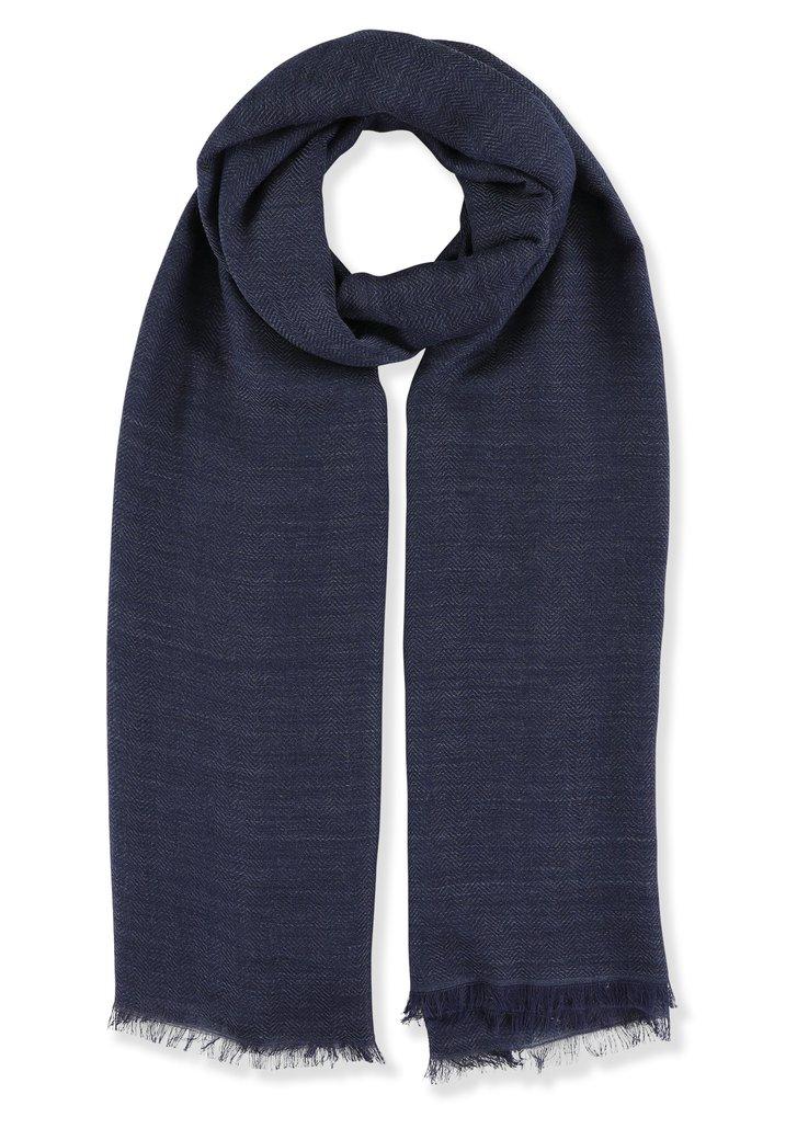Foulard bleu foncé