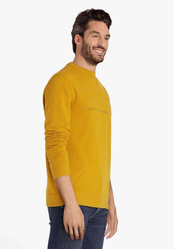 Gele sweater