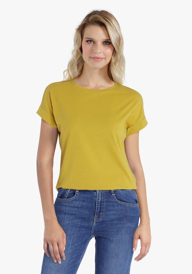 Goudgele T-shirt