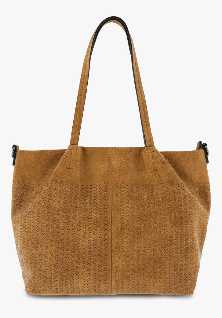 Grand sac à main brun