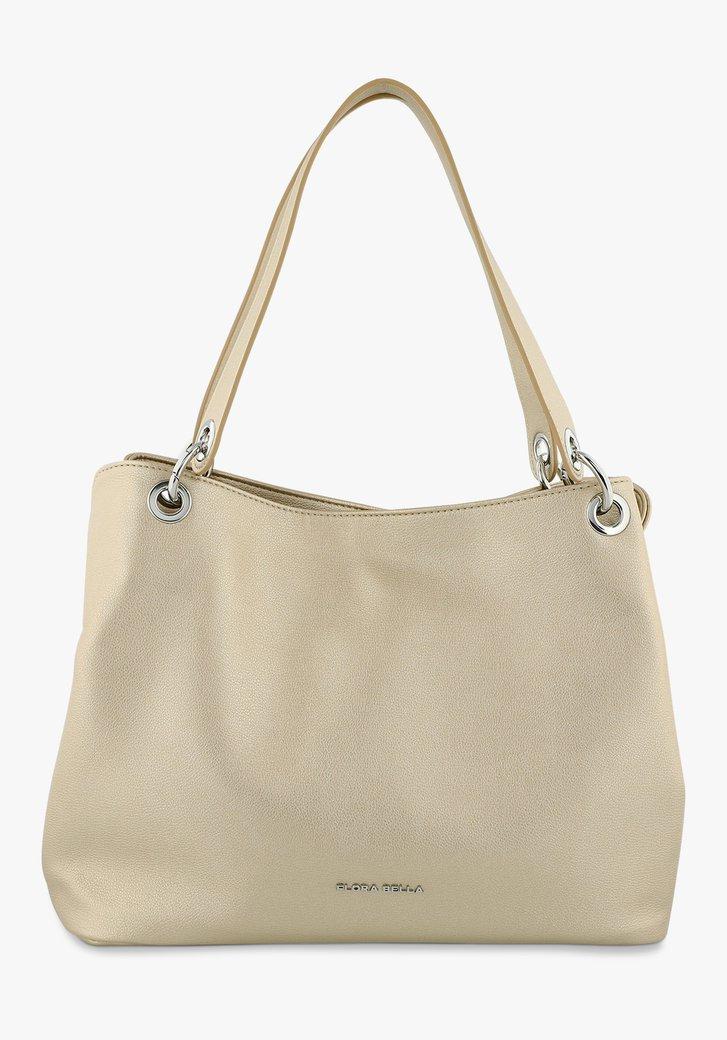 Grand sac à main doré
