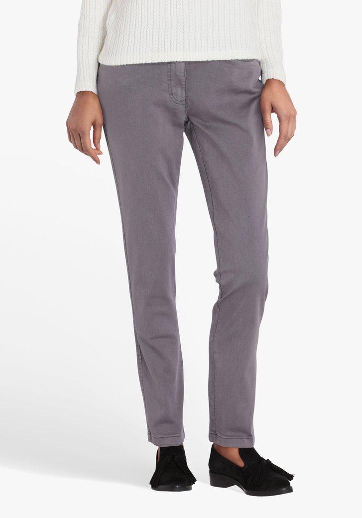 Grijze broek - L30 - straight fit